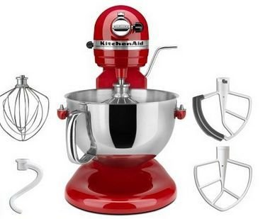 Kitchenaid Standard Mixer Professional 550 Plus Red Color Promo Offer