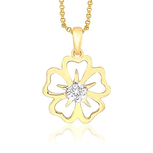 Asmi Asmi 18K Yellow Gold Diamond Pendant (Multicolor)