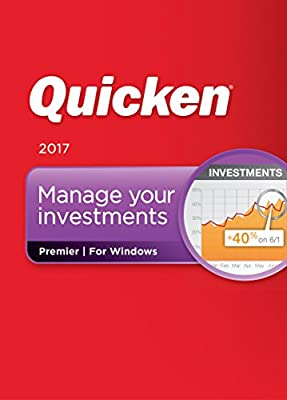Quicken Premier 2017 Personal Finance & Budgeting Software (CD)