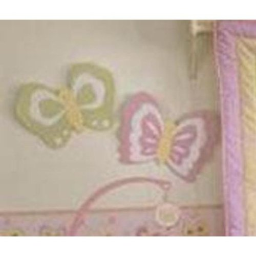 Bedtime Originals Butterfly Garden Wall Decor