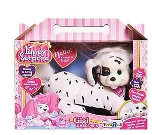 Amazon.com: Puppy Surprise Gigi Plush Dalmatian: Toys & Games