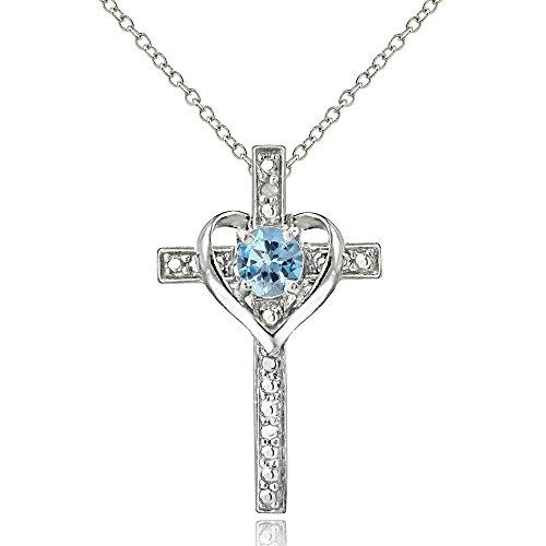 sterling-silver-blue-topaz-cross-heart-pendant-necklace