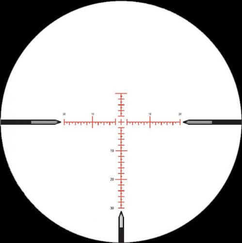 NightForce 5.5-22x50 NXS Tactical Riflescope ZeroStop, .250 MOA, MOAR Reticle C433