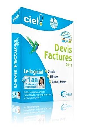 Ciel Devis Factures 2011 + 1 an d'assistance téléphonique