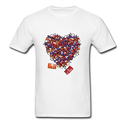 Men Candy_heart Color Custom Fashionalble Cool Shirts Shirts Size