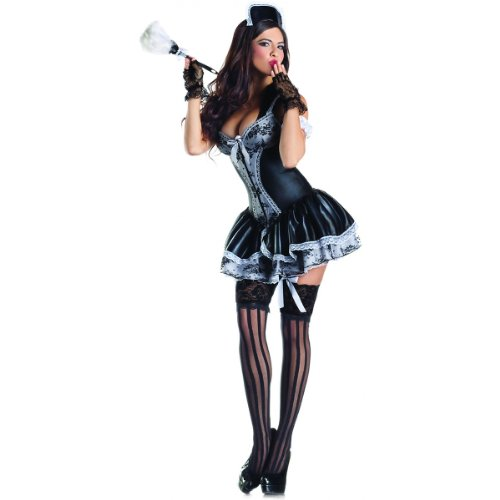 French Maid Body Shaper Costume - Medium - Dress Size