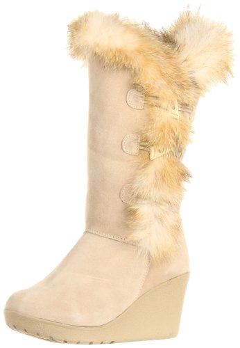 BEARPAW Women's Wallis Boot,Camel,5 M US