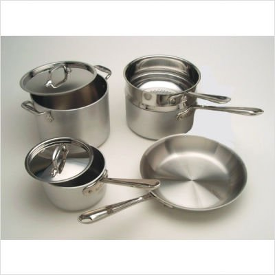 All Clad MC2 9-Piece Cookware Set