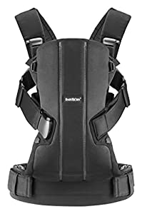 BABYBJORN Baby Carrier We Black Cotton