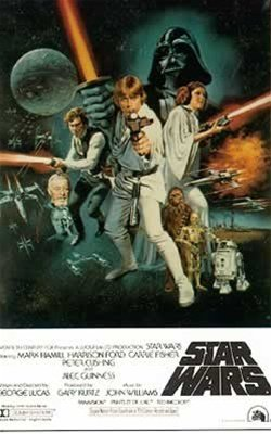 Star Wars Vintage Movie One Sheet Poster 26.5 x 40 inches 0