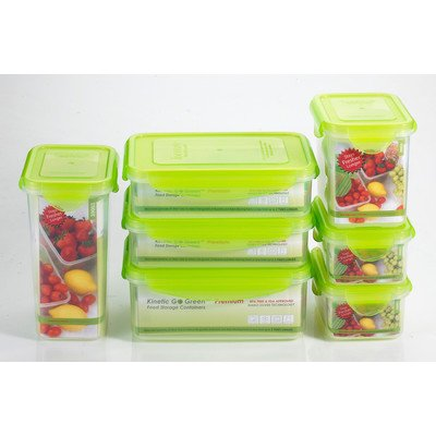 Contoure 39104 14-Piece Food Storage Kit