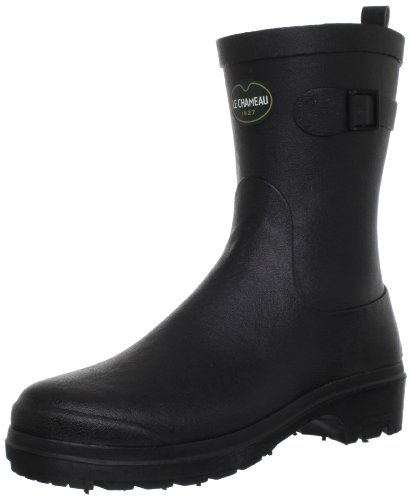 Le Chameau Low Boot Rubber Boots Women black Schwarz (Noir 0247) Size: 8 (42 EU)