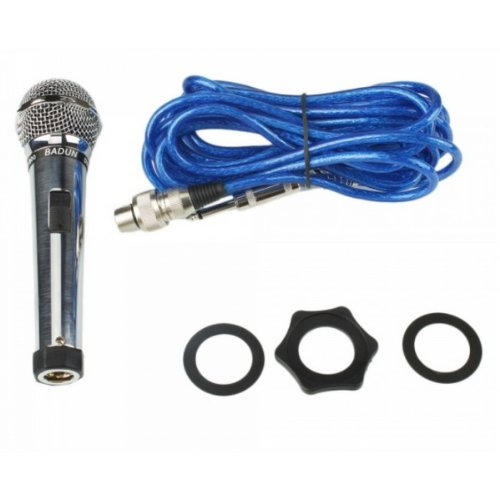 Professional Handheld Dynamic Karaoke Microphone Silver