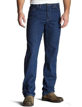 Dickies Men's Washed Regular Fit 5-Pocket Jean, Indigo Blue, 28 x 30
