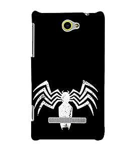 EPICCASE spooky spider Mobile Back Case Cover For HTC One M10 (Designer Case)