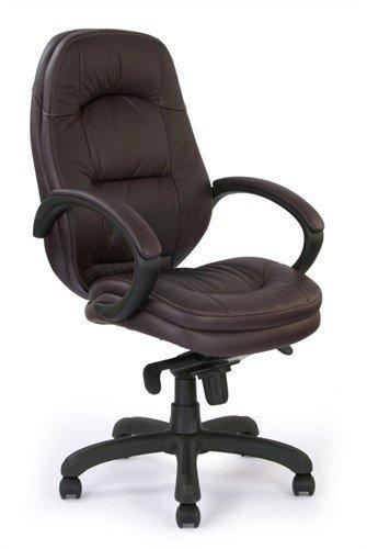 Eliza Tinsley 605KTAG/LBY Stylish Leather Faced Executive Armchair - Burgundy