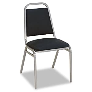 Alera® Continental Series Square Back Stacking Chairs CHAIR,STACKING,SQ BACK,BE BXMD-50 (Pack of2)