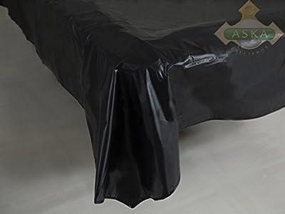 12 Ft Light Black PVC Pool Billiard Table Cover BLACK, Brand New