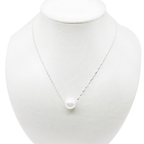 pearl-necklace-pendant-white-simulated-single-pearl-necklace-925-sterling-silver-necklace