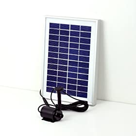 Instapark™ LARGE SOLAR POWER POND WATER PUMP 5 WATTS