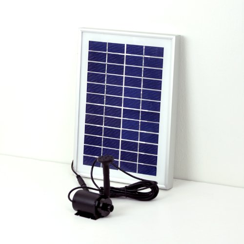 Instapark® LARGE SOLAR POWER POND WATER PUMP 5 WATTS