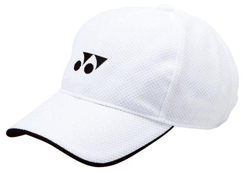 (Yonex) YONEX unisex Cap 40002 011 white FREE