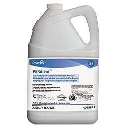 Diversey PERdiem Concentrated General Purpose Cleaner - Hydrogen Peroxide, 1gal, Bottle