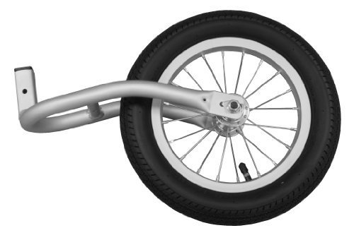 Joovy Cocoon Fixed Jogging Wheel Aluminum back-964867