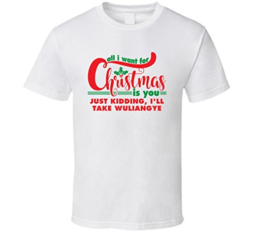 all-i-want-for-christmas-is-you-jk-wuliangye-funny-holiday-gift-t-shirt-l-white