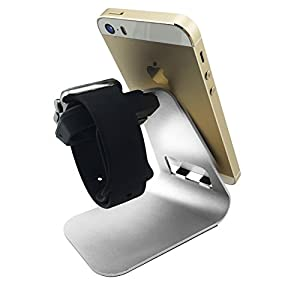 Apple Watch Stand, SySrion Apple Watch Charging Stand / Dock / Station / Platform iWatch Charging Stand Aluminum Build Cradle Holds For 2015 Apple Watch 38/42mm Sport Edition