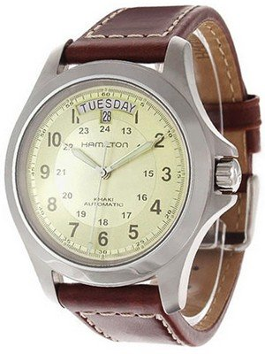 Hamilton's Men's Khaki King Automatic watch #H64455523