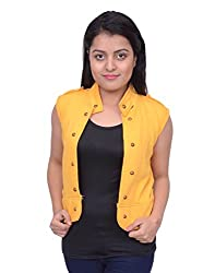 Snoby Yellow Half Jacket (SBY11012)