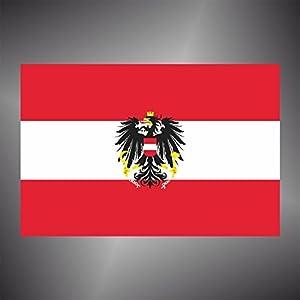 Adesivo Bandiera AUSTRIA flag sticker   recensione