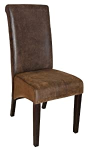 6001B-WW Upholstered Dining Room Chair Solid Beech Wood ...