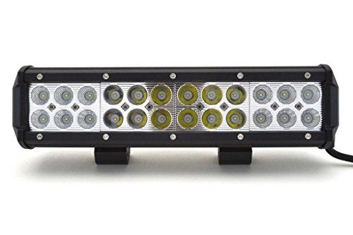 """Premier Light Bar - 12"""" Cree Flood/Spot Combo Beam 72W Led Light Bar Off Road Utv"""
