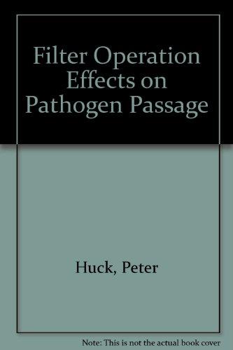 Filter Operation Effects on Pathogen Passage