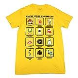 スーパーマリオ ENEMY Tシャツ Lサイズ [並行輸入品]