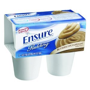 Ensure Pudding Butterscotch Cups 48 X 4oz Case by Ensure