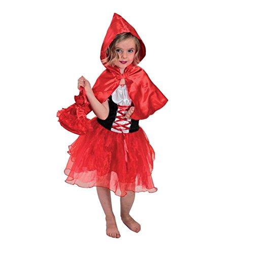 赤ずきん   コスチューム   ハロウィン 仮装 童話 キッズ   子供ドレス (S(95-110cm))