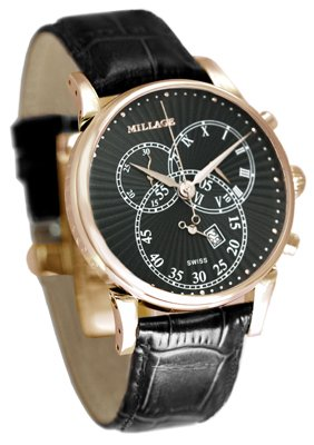 Millage Hampton Black on Rose Gold
