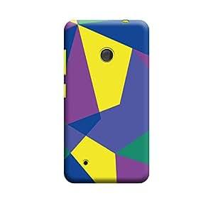 Qbic Designer Printed 3D High Quality Mobile Back Case Cover For Nokia Lumia 530 (Premium Matte Finishing Back Case )