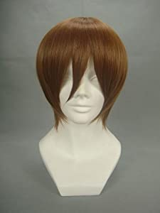 Rulercosplay Short the Prince of Tennis Fujisyusuke Brown Anime Cosplay Wig Many Roles Available