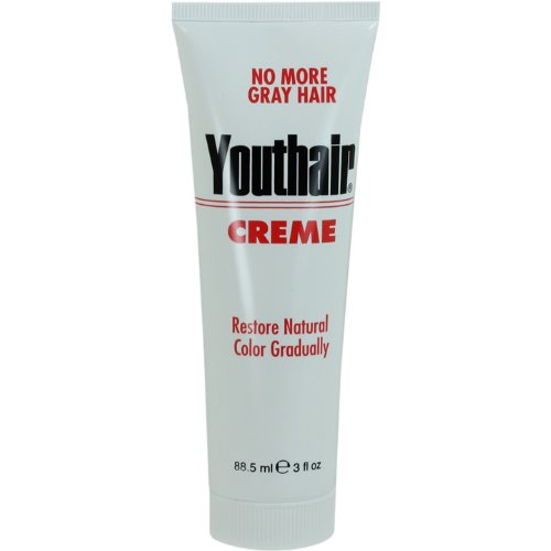 Youthair Creme Tube, 3-Ounce (Pack of 3)