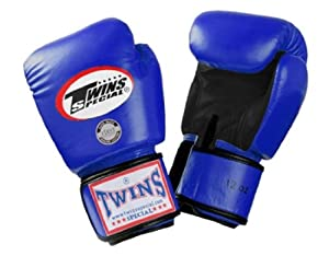 Buy Twins Special Muay Thai Boxing Gloves - Dual Color - Premium Leather w  Velcro by Twins Special
