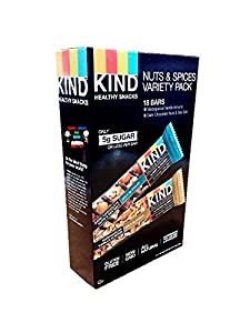Kind Nuts and Spices Variety Pack, 25.2 Ounce