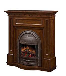 dimplex hastings cfp4949bw victorian style electric fireplace mantel with firebox