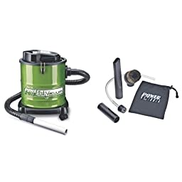 PowerSmith PAVC101 10 Amp Ash Vacuum with Cleaning Kit