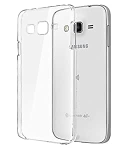 S-Gripline Combo Pack Transparent cover for Samsung Galaxy J3 + USB ultra bright led light (Black)