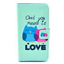 buy Deego Cute Owl Love Credit Card Holder Case Cover For Samsung Galaxy S5, Galaxy Sv