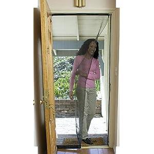 Indoor screen door exterior for Indoor screen door